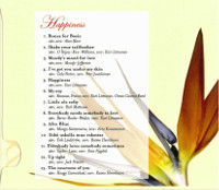 Happiness 2003 - Back